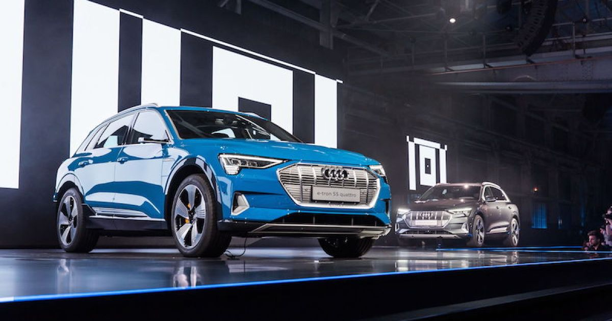 Audi E Tron Official The Electric Suv Is Known This Year We Know
