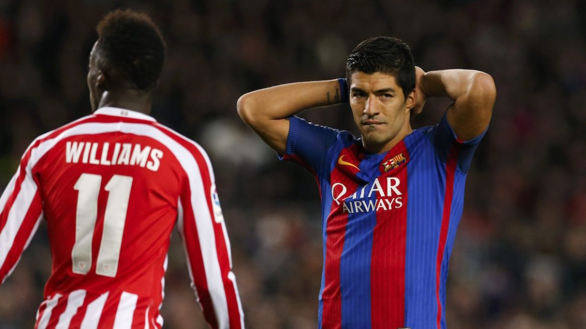 Luis Suarez FC Barcelona Williams Athletic Bilbao jan2017