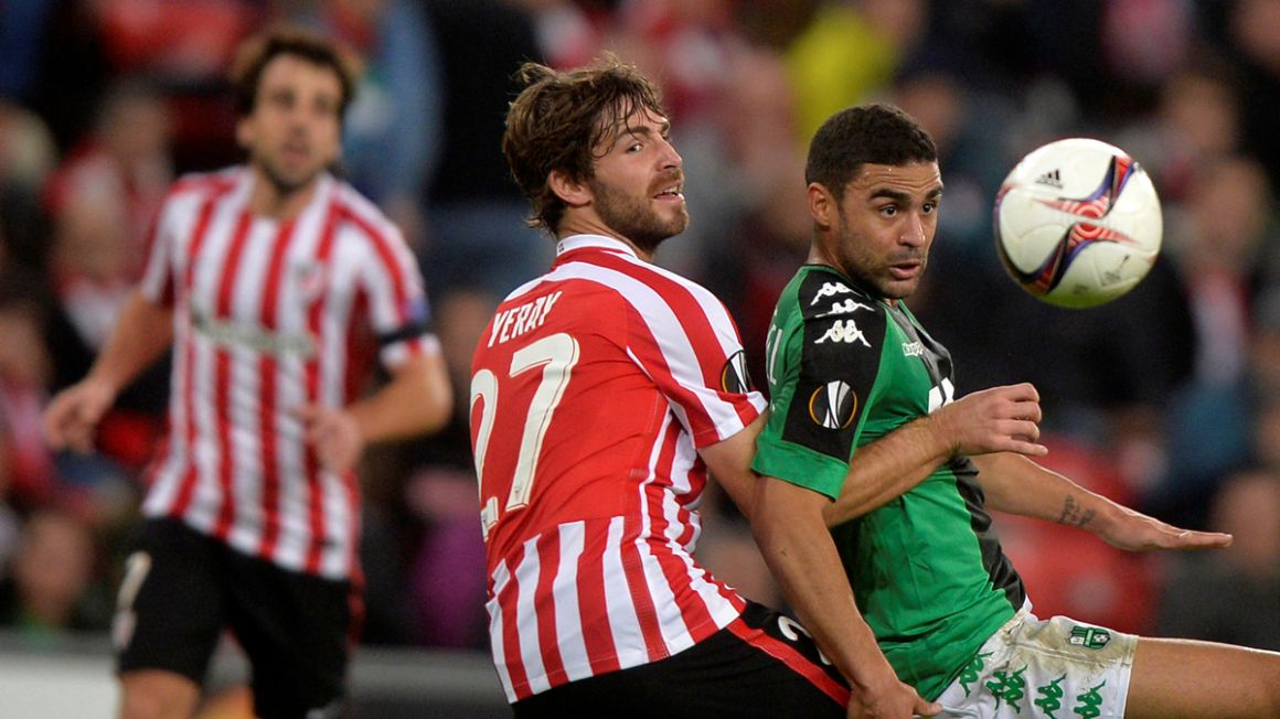Yeray Alvarez, dec2016, Athletic BBilbao