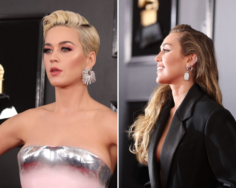 Katy Perry a Miley Cyrus