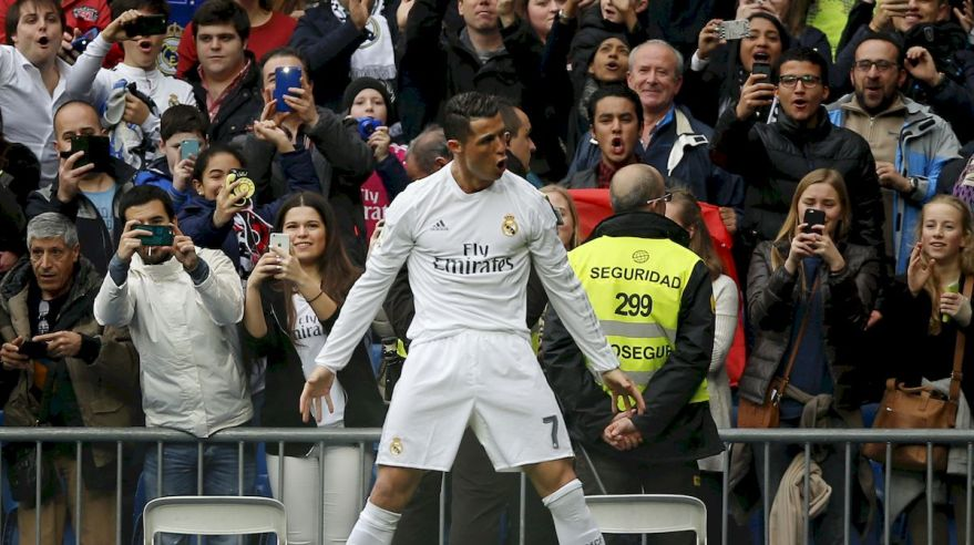 Real Madrid Cristiano Ronaldo gol feb16 TASR