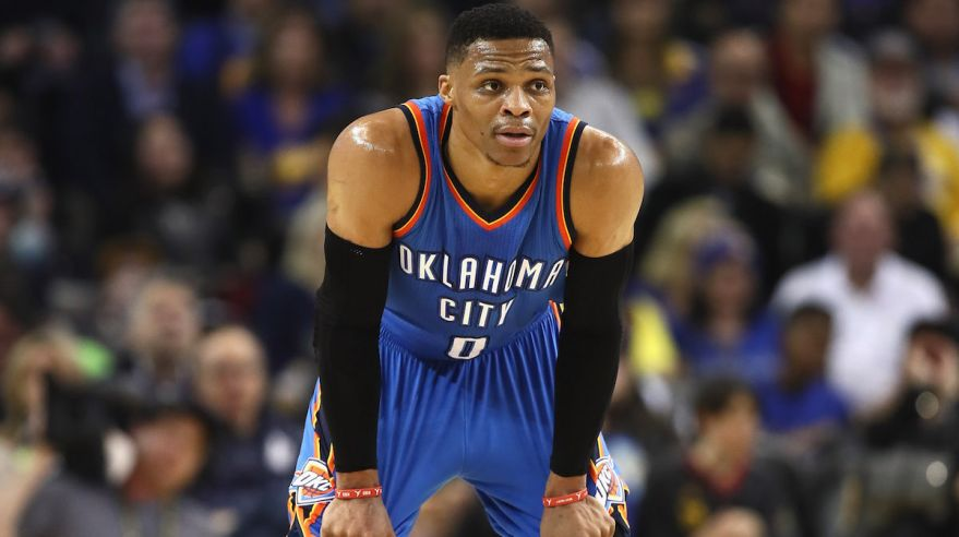 Russell Westbrook, Oklahoma City, jan17, gettyimages
