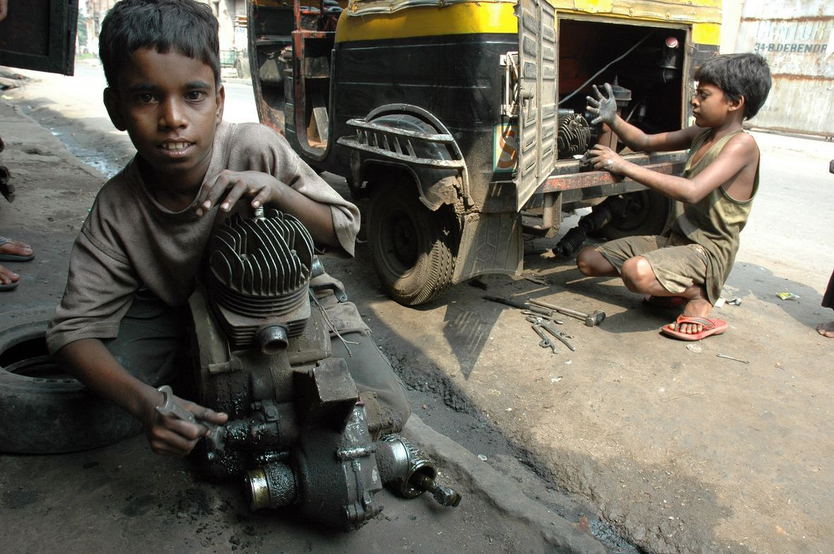 child labor in india Urban india is employing an increasing number of children, many under 9, in production, tourism and construction site jobs.