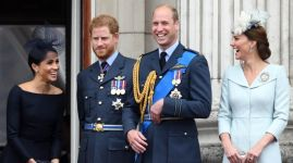 Princ William a princ Harry s manželkami