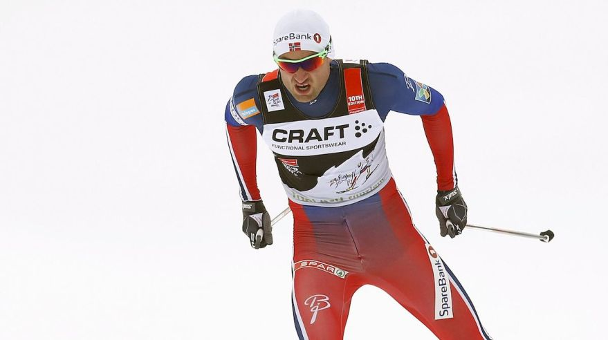 Peter Northug beh na lyziach Toblach jan16 Reuters