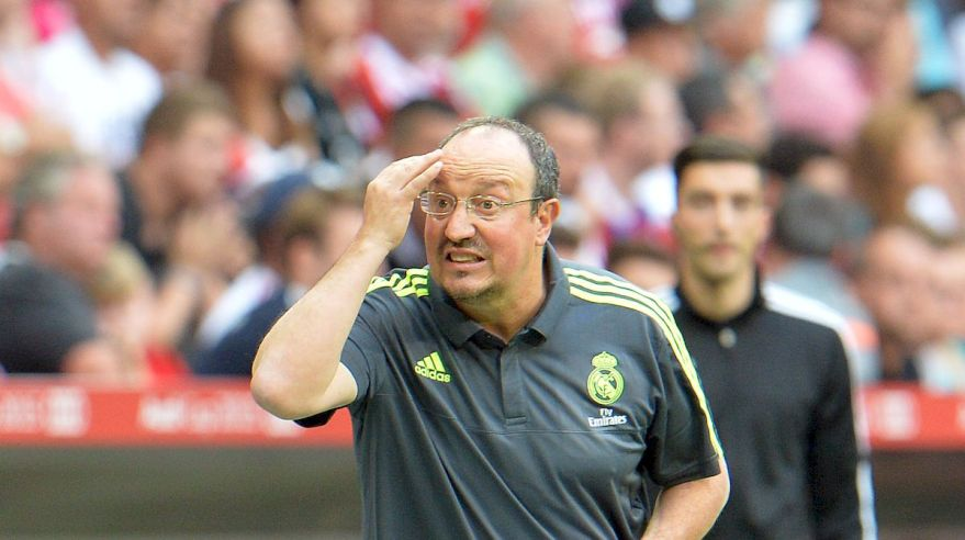 Rafael Benitez Real Madrid sep15 TASR