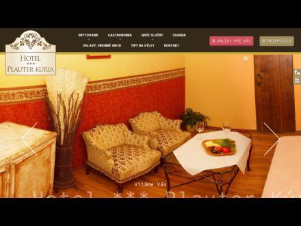 www.hotelplauterkuria.sk