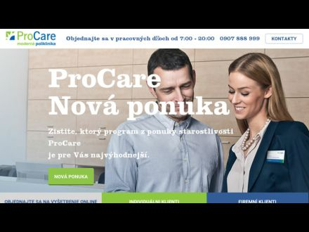 www.procare.sk