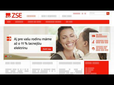 www.zse.sk