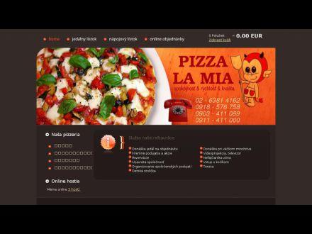 www.pizzerialamia.sk