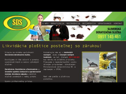 www.deratizacia-upratovanie.sk