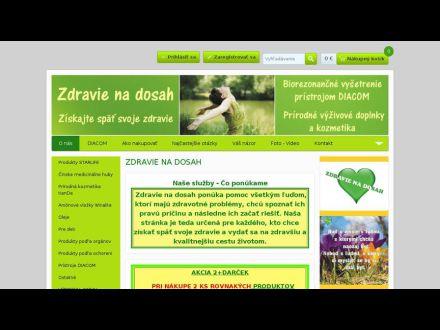www.zdravienadosah.sk