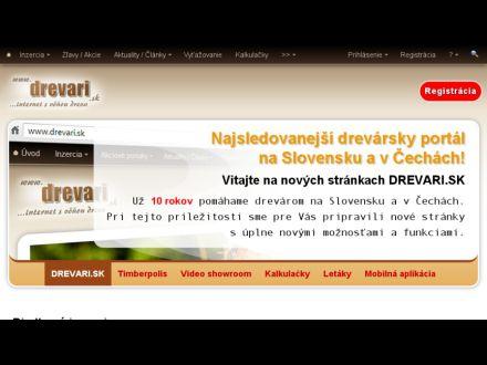 www.drevari.sk
