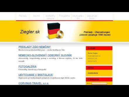 www.ziegler.sk