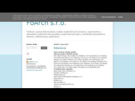 www.foarch.blogspot.sk