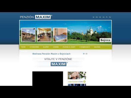 www.maxim-penzion.sk