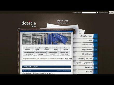 www.opendoor.sk