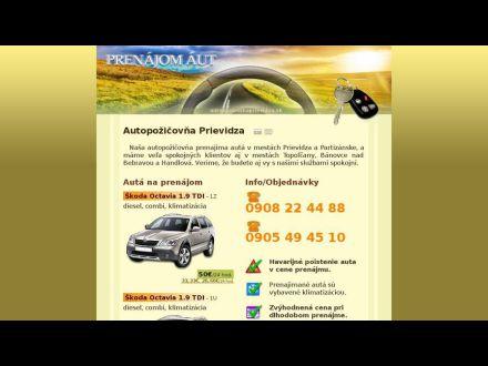 www.autopozicovnaprievidza.sk