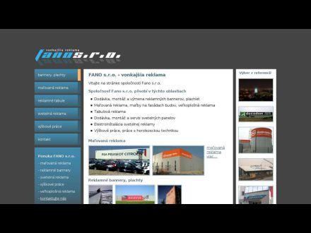 www.fano.sk
