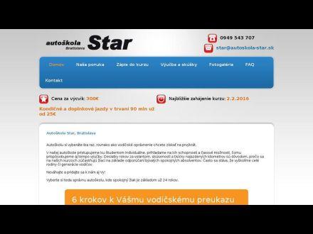 www.autoskola-star.sk
