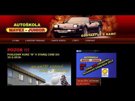 www.mavexjunior.sk