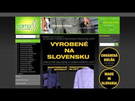 www.bortex.sk