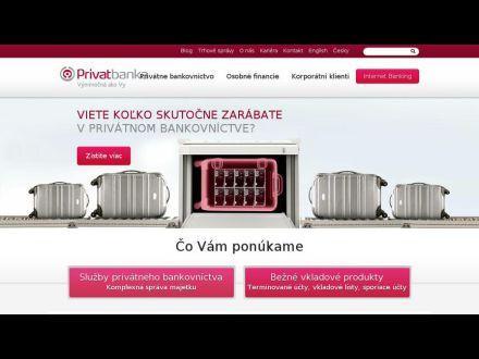 www.privatbanka.sk