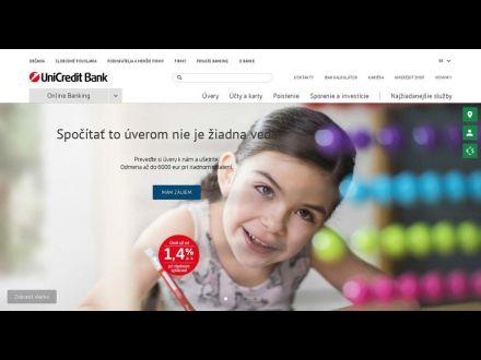 www.unicreditbank.sk
