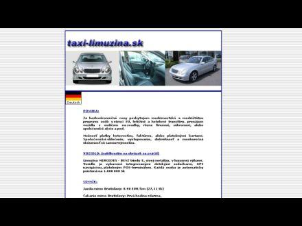 www.taxi-limuzina.sk