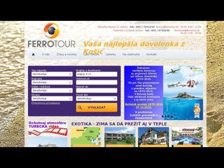www.ferrotour.sk