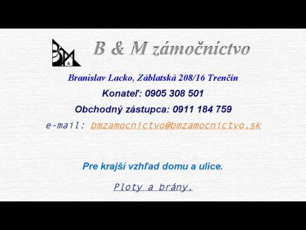 www.bmzamocnictvo.sk