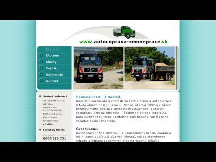 www.autodoprava-zemneprace.sk