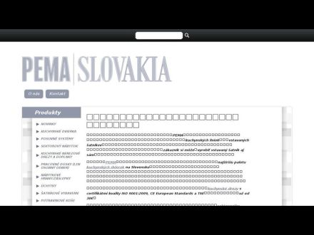 www.pemaslovakia.sk
