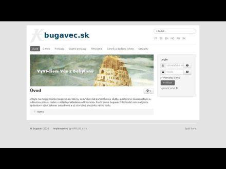 www.bugavec.sk
