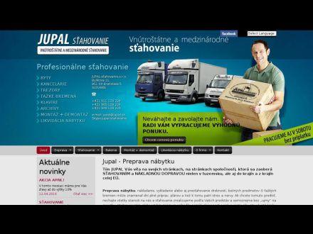 www.jupal.sk