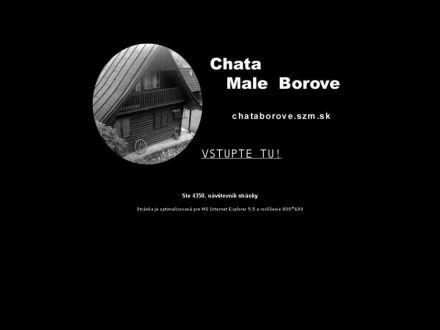 www.chataborove.szm.sk