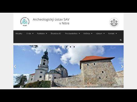www.archeol.sav.sk