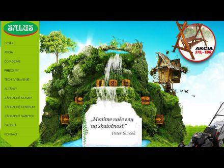 www.salus-zahradnictvo.sk