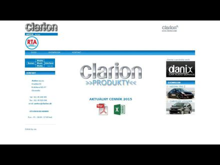 www.clarion.sk