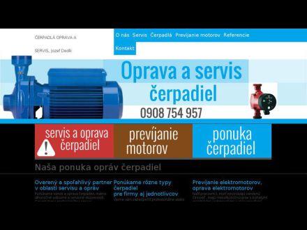 www.cerpadlaservis.sk