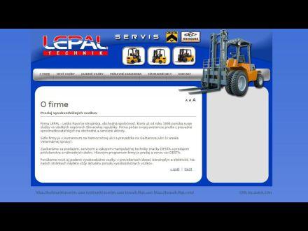 www.lepal.sk