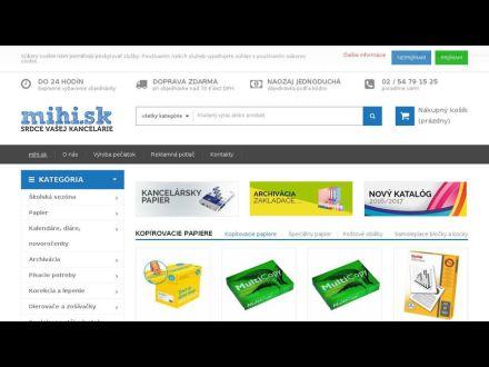 www.mihi.sk