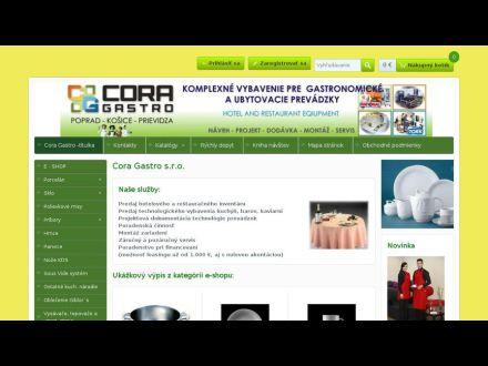 www.cora-gastro.sk