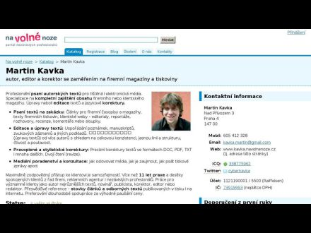 www.kavka.navolnenoze.cz