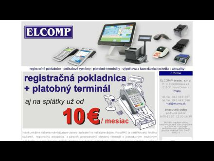 www.elcomp.sk