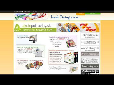 www.tradetising.sk