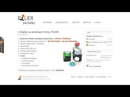 www.pilier.sk
