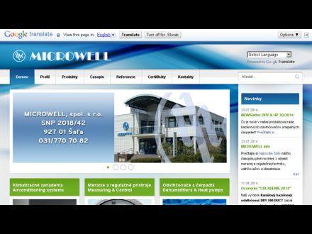 www.microwell.sk