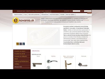 www.e-kovania.sk