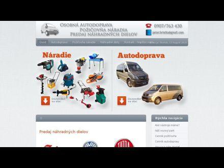 www.autodoprava-pozicovna.sk